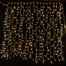 warm white 2m x 3m connectable led curtain light