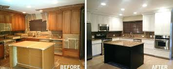 kitchen cabinets refacing costs average amao me