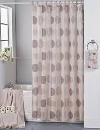 park avenue brown fabric shower curtain