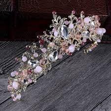 <b>Nieuwe</b> Mode Prachtige Parel Crystal Bridal Crown Tiara Classic ...