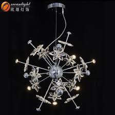 lighting fixture pendant lamp crystal drop pendant lighting om66130 4 8 4
