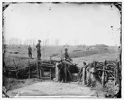 746px Confederate fortifications at Manassas VA