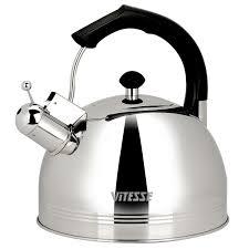 Чайник со свистком Metrot Айва, 2,5л., эмаль, 183192 METALAC ...