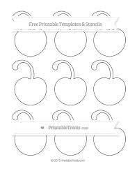 free printable small cherry with curled stem template free printable small cherry with curled stem template printable on bunting template to print