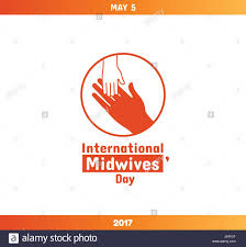 Midwifery Logo Design International Midwives Day May 5 Vector Design Element