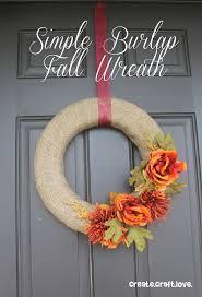 Burlap Crafts The 25 Best Burlap Fall Decor Ideas On Pinterest Autumn Wreaths