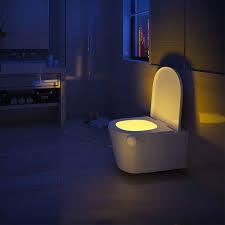 Amazoncom Hokuga 8 Colors Led Wc Toilet Seat Lamp With Pir Motion
