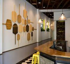 Pizza Paddle On Restaurant Wall   Google Search Pizzeria Design, Restaurant  Design, Restaurant Trends