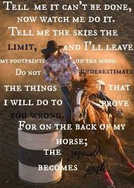 Barrel Racing Quotes Best Exactly