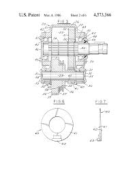 patent us4573366 power transmission google patents patent drawing
