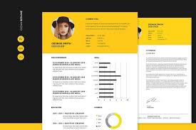 Cv Resume 50 Best Cv Resume Templates Of 2019 Design Shack