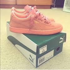 puma shoes pink. puma shoes - salmon pink puma\u0027s