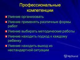 Презентация на тему ОТЧЕТ по летней педагогической практике К р  6 Профессиональные компетенции