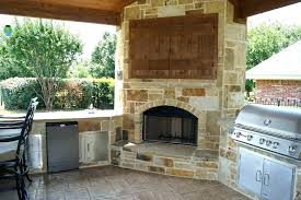 built in outdoor fireplace outdoor fireplace with tv image of outdoor cabinet corner outdoor fireplace with