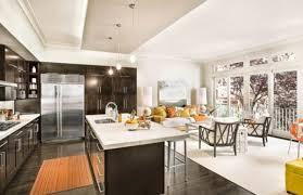dark hardwood flooring kitchen. Wonderful Flooring View In Gallery Dark Wood Floors Kitchen Intended Dark Hardwood Flooring Kitchen