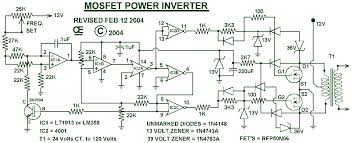 1000w power inverter schematic design