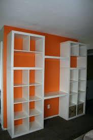 bookshelf desk good idea for mounting a in the shelving unit and desktop shelf uk