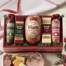 high five ham gift ortment from the swiss colony
