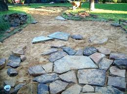how to install flagstone patio with mortar flagstone patio ideas concrete on outdoor furniture amazing installing installing flagstone patio with mortar