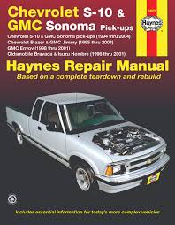 chevrolet s 10 gmc sonoma pick ups 94 04 inc s 10 blazer enlarge chevrolet s 10 gmc