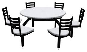 palmer hamilton round outdoor table with glides 6 seats various options