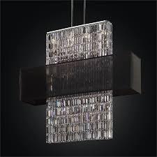 rectangular shade chandelier rectangular crystal chandelier reflections 600lm44 42sp b 3c