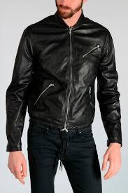 black gold lionel leather jacket
