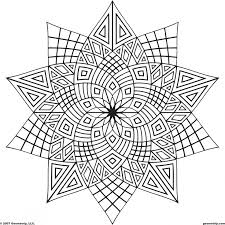Pattern Coloring Pages For Adults Color Bros