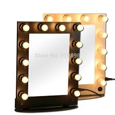 professional lighted makeup mirrors metallic cosmetic case light bulbsin cosmetic bags u0026 cases from luggage on aliexpresscom alibaba make up mirror c88
