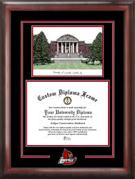 university of louisville grawemeyer hall lithograph diploma  university