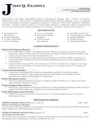 Writing Resume Samples Targeted Resume Samples Business Development