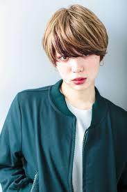 10代おすすめ面長に似合うショートの人気ヘアスタイルおしゃれな髪型