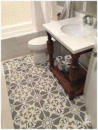 Decorative Cement Floor Tiles Cement Tile Bathroom Floors Rustico Tile and Stone 1