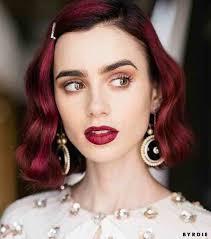apple red lips summer makeup