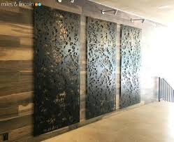 wood and metal wall panel lovely wood and metal wall panels interior decorating decorative screens artisan