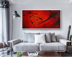Large Paintings For Living Room Popular Large Canvas Abstract Art Buy Cheap Large Canvas Abstract