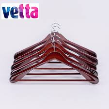 High Quality Coat Rack 100 pcs in a set hot sale wooden coat hanger high quality dark brown 40