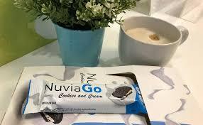 NuviaGo Full Protein Weight Loss Bar - Get Natural Shining Look!