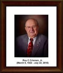 Roy C Crisman (1922-2016) - Find A Grave Memorial