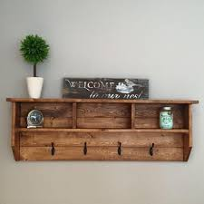 wall mounted wood coat rack 13 hat rack ideas easy and simple for sweet