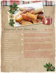 Christmas Recipe Card Christmas Recipe Card Ideas Blue Mountain