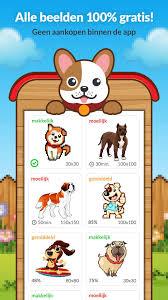 Als uw kinderen zijn dol op dieren en dieren kleurplaat, dan is deze app is een perfect cadeau voor hen. Kleuren Op Nummer Kleurplaat Hond For Android Apk Download