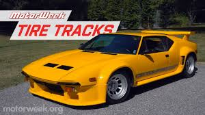Exploring the <b>History of</b> the De Tomaso <b>Pantera</b>   MotorWeek Tire ...