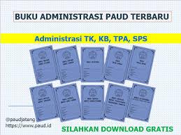 Contoh form kosong kwitansi untuk pembayaran keuangan sekolah. Download Buku Administrasi Paud Tk Kb Tpa Sps Gratis Paud Jateng