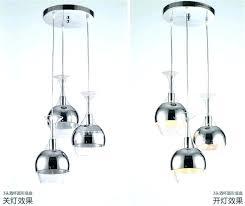 3 bulb ceiling light set chandeliers wine glass pendant hanging lighting copper