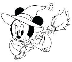 Disney Halloween Coloring Pages Printable Free