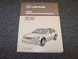 1999 lexus gs400 gs300 sedan electrical wiring diagram manual 3 0l image is loading 1999 lexus gs400 amp gs300 sedan electrical wiring
