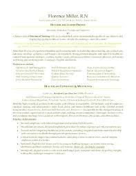 Nurse Manager Resume Impressive Director Of Nursing Resume Resume For Assistant Director Of Nursing