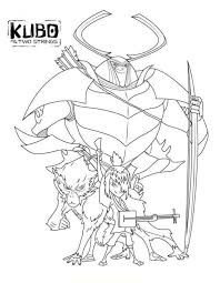 Coloring Page Kubo And The Two Strings Coloring Pages Kleurplaten