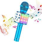 BlueFire 4 in 1 Bluetooth Handheld Wireless Karaoke Microphone Portable Speaker Machine